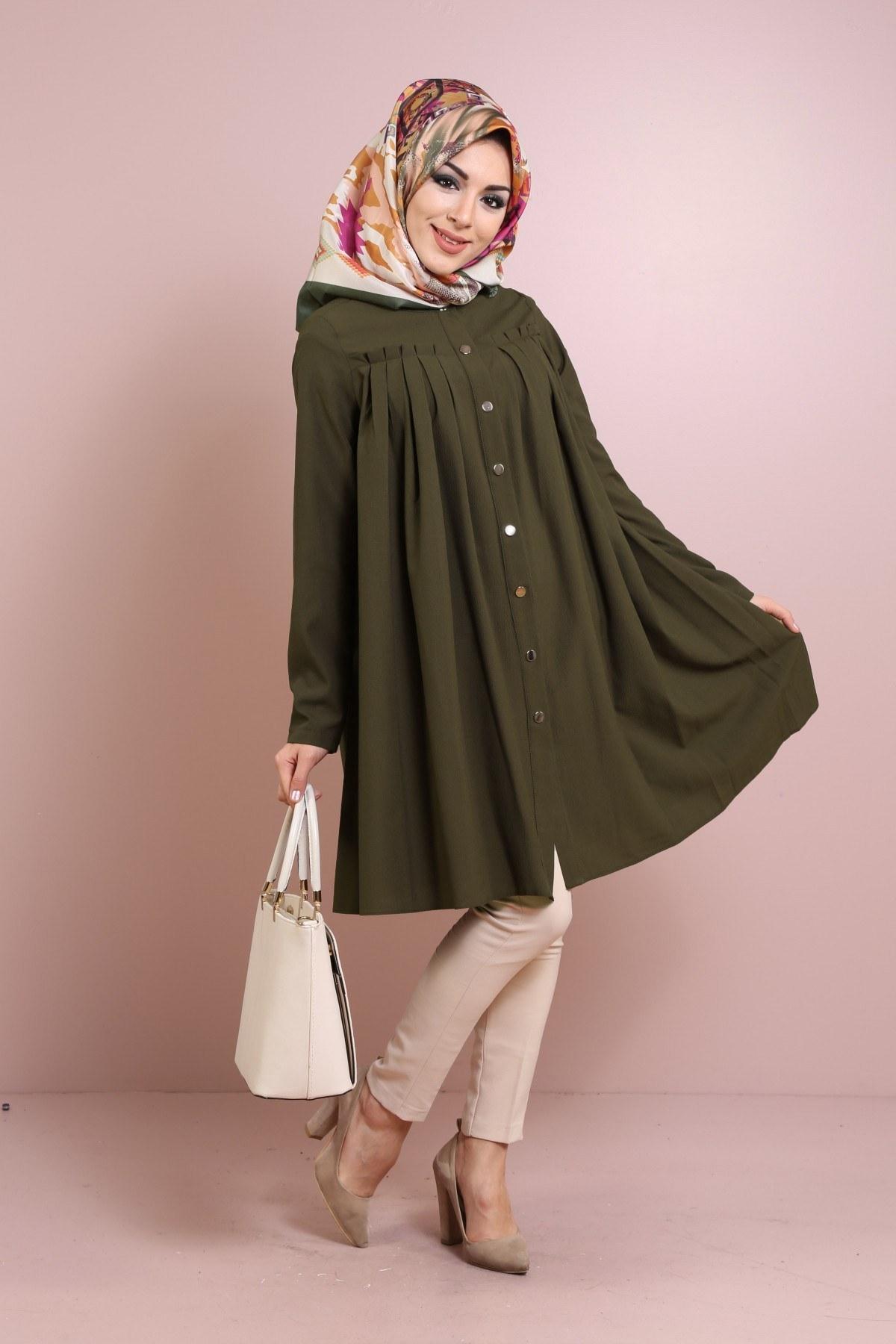 Moda Şifon Tunik Modelleri