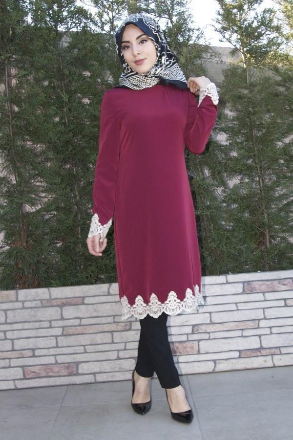 3a77254ec2c0f En Güzel Tesettür Tunik Modelleri